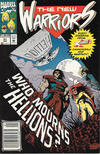 Cover for The New Warriors (Marvel, 1990 series) #31 [Newsstand]