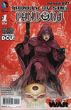 Cover for Trinity of Sin: Pandora (DC, 2013 series) #1 [2nd Printing]
