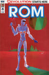 Cover for ROM (IDW, 2016 series) #4 [Subscription Cover B (J. Veregge)]