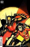 Cover for Batman Beyond (DC, 2016 series) #20 [Shane Davis Cover]