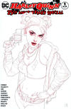 Cover Thumbnail for Harley Quinn 25th Anniversary Special (2017 series) #1 [Jetpack Comics & Games Josh Middleton Sketch Cover]