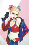 Cover Thumbnail for Harley Quinn 25th Anniversary Special (2017 series) #1 [Forbidden Planet Josh Middleton Virgin Cover]