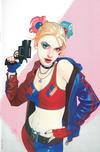 Cover Thumbnail for Harley Quinn 25th Anniversary Special (2017 series) #1 [Forbidden Planet Josh Middleton Virgin Cover]
