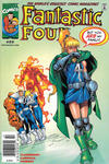 Cover for Fantastic Four (Marvel, 1998 series) #22 [Newsstand]