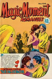 Cover Thumbnail for Magic Moment Romances (K. G. Murray, 1958 series) #106