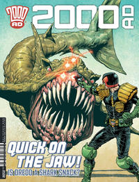 Cover Thumbnail for 2000 AD (Rebellion, 2001 series) #2102