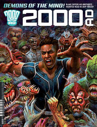 Cover Thumbnail for 2000 AD (Rebellion, 2001 series) #2103