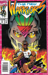 Cover Thumbnail for The New Warriors (Marvel, 1990 series) #37 [Newsstand]