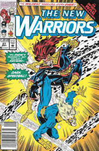 Cover Thumbnail for The New Warriors (Marvel, 1990 series) #27 [Newsstand]