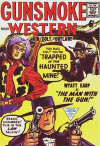 Cover Thumbnail for Gunsmoke Western (L. Miller & Son, 1955 series) #20