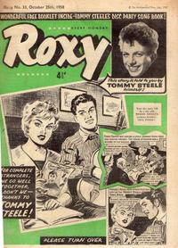 Cover Thumbnail for Roxy (Amalgamated Press, 1958 series) #33