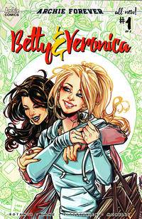 Cover Thumbnail for Betty and Veronica (Archie, 2018 series) #1 [Cover B Laura Braga]
