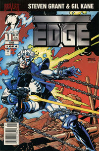Cover Thumbnail for Edge (Malibu, 1994 series) #1 [Newsstand]