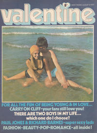 Cover Thumbnail for Valentine (IPC, 1957 series) #1 August 1970