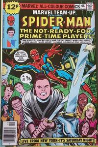 Cover Thumbnail for Marvel Team-Up (Marvel, 1972 series) #74 [British]