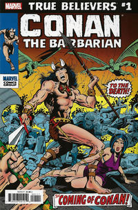 Cover Thumbnail for True Believers: Conan the Barbarian (Marvel, 2019 series) #1