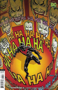 Cover Thumbnail for Batman Beyond (DC, 2016 series) #25 [Dave Johnson Cover]