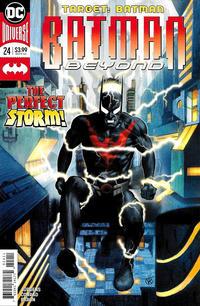 Cover Thumbnail for Batman Beyond (DC, 2016 series) #24