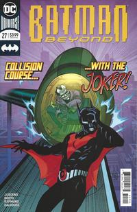 Cover Thumbnail for Batman Beyond (DC, 2016 series) #27