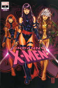 Cover Thumbnail for Uncanny X-Men (Marvel, 2019 series) #1 (620) [Mark Brooks Convention Exclusive]