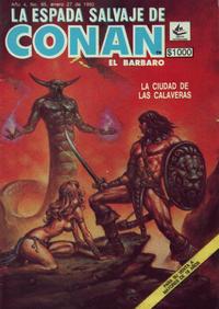 Cover Thumbnail for La Espada Salvaje de Conan el Bárbaro (Novedades, 1988 series) #95