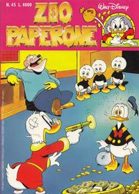 Cover Thumbnail for Zio Paperone (Disney Italia, 1990 series) #45