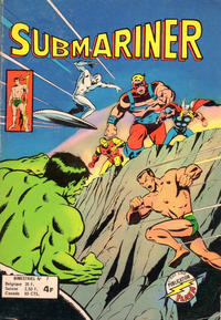 Cover Thumbnail for Submariner (Arédit-Artima, 1976 series) #7