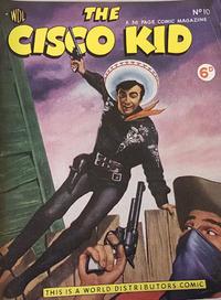 Cover for Cisco Kid (World Distributors, 1952 series) #10