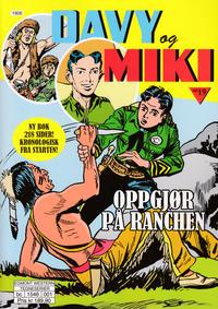 Cover Thumbnail for Davy og Miki (Hjemmet / Egmont, 2014 series) #19
