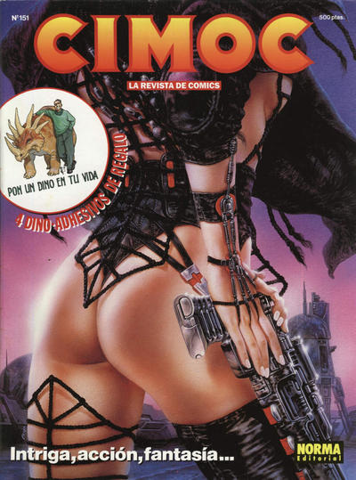 Cover for Cimoc (NORMA Editorial, 1981 series) #151