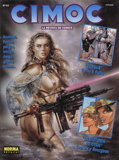 Cover for Cimoc (NORMA Editorial, 1981 series) #152