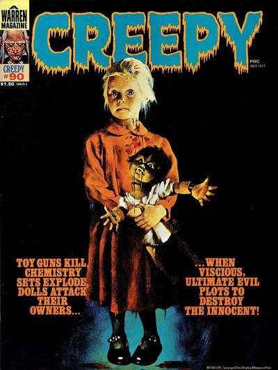 Cover for Creepy (Warren, 1964 series) #90 [Canadian]