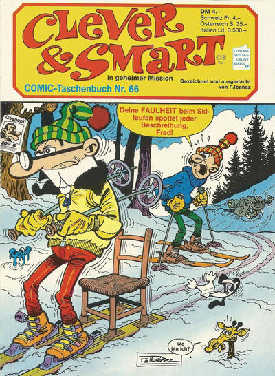 Cover for Clever & Smart (Condor, 1982 series) #66