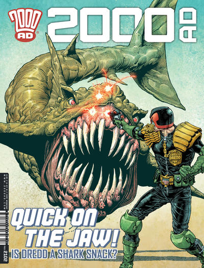 Cover for 2000 AD (Rebellion, 2001 series) #2102