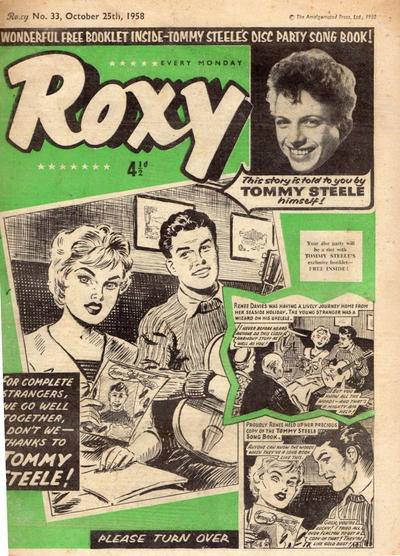 Cover for Roxy (Amalgamated Press, 1958 series) #33
