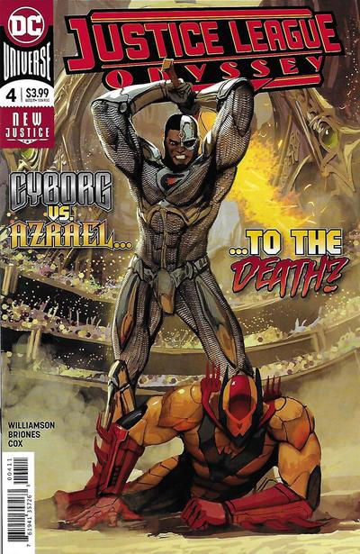 Cover for Justice League Odyssey (DC, 2018 series) #4 [Stjepan Šejić Cover]