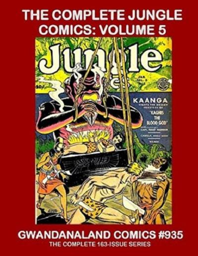 Cover for Gwandanaland Comics (Gwandanaland Comics, 2016 series) #935 - The Complete Jungle Comics: Volume 5
