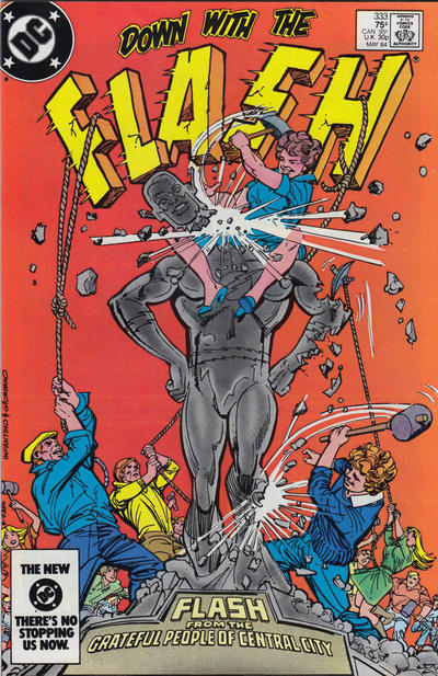 Cover for The Flash (DC, 1959 series) #333 [Direct]