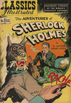 """Cover for Classics Illustrated (Gilberton, 1947 series) #33 [HRN 71] - The Adventures of Sherlock Holmes: Text Article on """"The Fighting Cheyennes"""""""