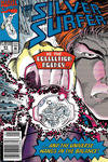Cover Thumbnail for Silver Surfer (1987 series) #61 [Newsstand]