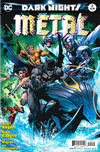 Cover for Dark Nights: Metal (DC, 2017 series) #2 [Jim Lee / Scott Williams Cover]