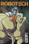 Cover for Robotech (Titan, 2017 series) #6 [Cover A - Giannis Milonogiannis]