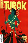 Cover for Turok (Dynamite Entertainment, 2019 series) #1 [Cover C Jeffrey Veregge]
