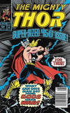 Cover Thumbnail for Thor (1966 series) #450 [Newsstand]