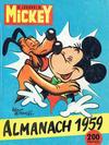 Cover for Almanach du Journal de Mickey (Hachette, 1956 series) #1959