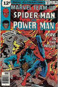 Cover Thumbnail for Marvel Team-Up (Marvel, 1972 series) #75 [British]