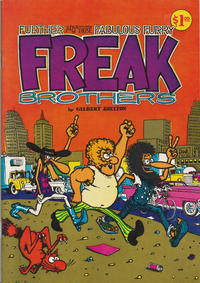 Cover Thumbnail for The Fabulous Furry Freak Brothers (Rip Off Press, 1971 series) #2 [1.00 USD 9th print]