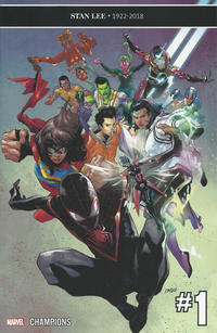 Cover Thumbnail for Champions (Marvel, 2019 series) #1