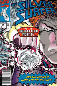 Cover Thumbnail for Silver Surfer (Marvel, 1987 series) #61 [Newsstand]