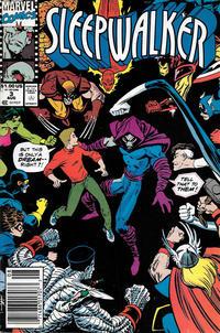 Cover Thumbnail for Sleepwalker (Marvel, 1991 series) #3 [Newsstand]